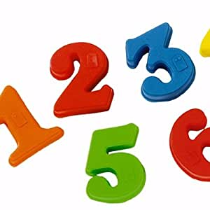 Playskool Magnetic Numbers - with Braille - 26 pieces