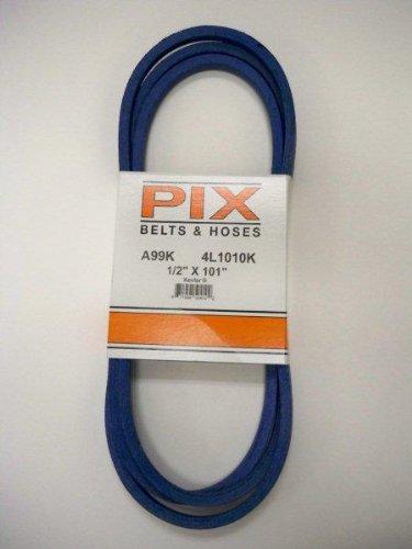 "1/2"" X 101"" Pix Kevlar Corded Belt, Use For Craftsman Poulan Husqvarna 429636, 197253...Also John Deere M84136, M87323"