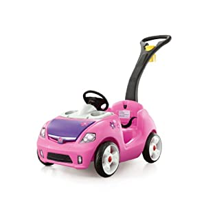 Amazon.com: Step2 Pink Whisper Ride Buggy: Toys & Games