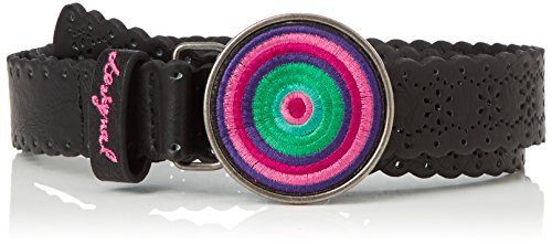 Desigual Woodstock-Cintura Donna    Black (Negro) 85 cm