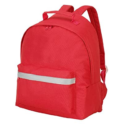 Shugon Abc Backpack, 5 Colours With Reflective Trip, Red from SHUGON