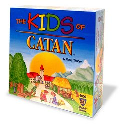 Kids of Catan board game!