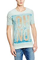 Pepe Jeans London Camiseta Manga Corta Woodford Slim Fit (Verde Claro)