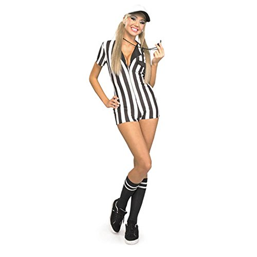 Women's Sexy Referee Costume (Size: Medium 8-10)