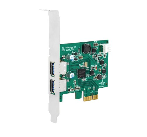 Cavalry Storage USB 3.0 PCI-E 2 Port USB Host Card (Pcie Storage compare prices)