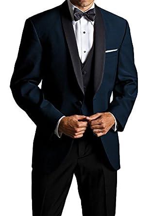 Big And Tall Midnight Blue Skyfall Tuxedo At Amazon Men S