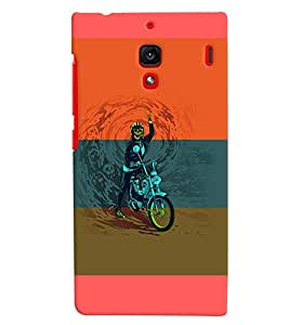 PrintVisa Sports Extreme Sports Bike 3D Hard Polycarbonate Designer Back Case Cover for Xiaomi Redmi 1S