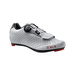 Fi\'zi:k R5B Uomo Boa Shoe - Men\'s White/Light Gray, 45.5
