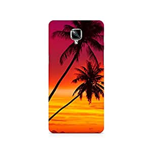 TAZindia Designer Printed Hard Back Case Cover For One Plus Three