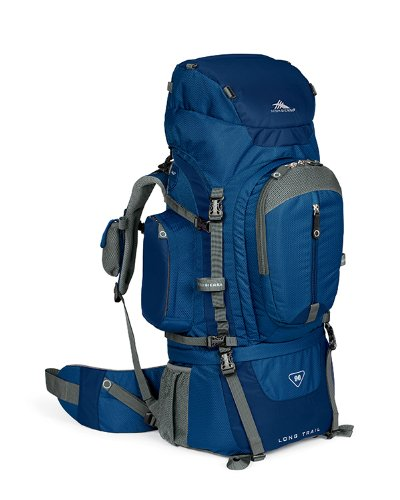 High Sierra Classic Series 59601 Long Trail 90 Internal Frame Pack Pacific 36X15.25X11 Inches 5500 Cubic Inches 90 Liters front-618745
