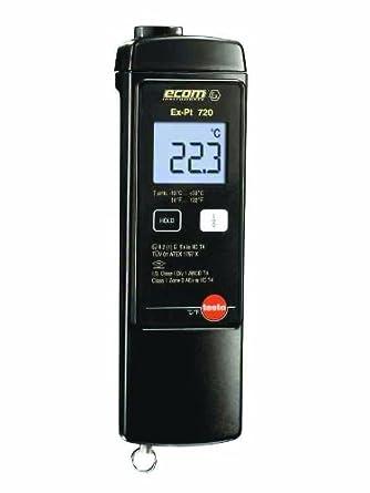 Testo 0560 7236 ABS RTD Thermometer, -58 to 750 Degree F Range, 9V