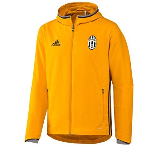 adidas Juve Pre Match Jacket felpa hooded Juventus uomo