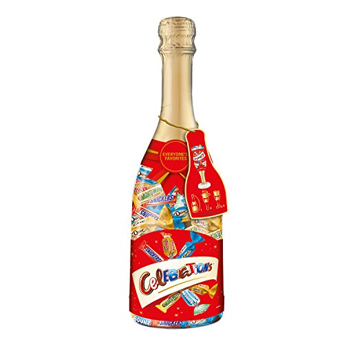MARS CELEBRATIONS Chocolate Variety Mix Candy Bars in a 21-Ounce Champagne Bottle (Chocolate Bars Assorted compare prices)