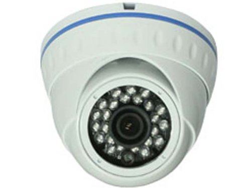 800 Tvl 1/3 Cmos Indoor/Outdoor 960H Dome Camera - White