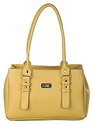 Zak Women PU Handbag (Beige)