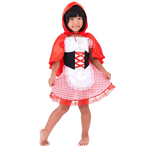 [FUN fun Baby Girls' Halloween Costume Dress 'Little Red Riding Hood' 3-12 Mon...] (Babies R Us Toddler Halloween Costumes)