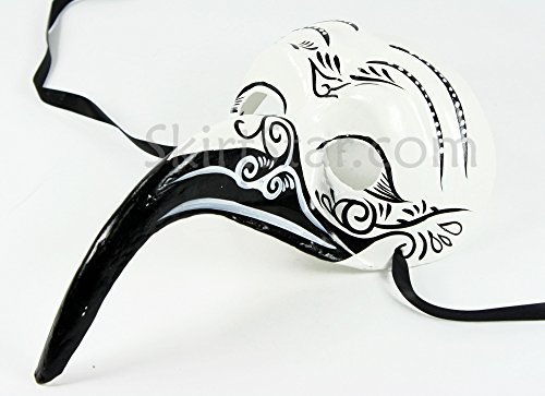 Men's Day of the Dead Dia de los Muertos Nose Mask