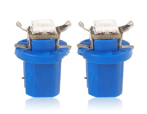 T5 B8.5D 5050 Led Blue Light Gauge Lamp (Blue)
