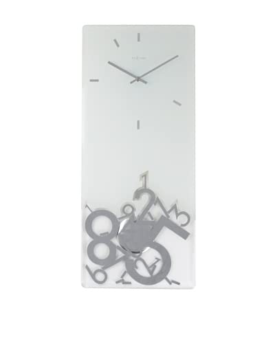NeXtime Dropped Rectangle Clock