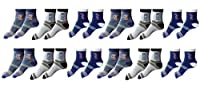 Ankle Socks Pack of 12 Pair
