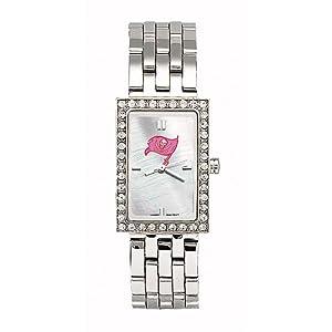 Tampa Bay Buccaneers Ladies NFL Starlette Watch (Bracelet) by Logo Art