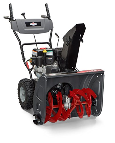 Briggs and Stratton 1696610 Dual-Stage Snow Thrower with 208cc Engine and Electric Start