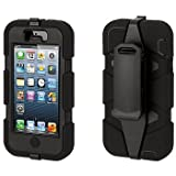 Griffin GB35677 Protective Survivor Case/Cover & Belt Clip for iPhone 5