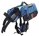 Kyjen Outward Hound Quick Release Dog BackPack – Sm – Blue (Quantity of 1)