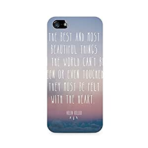 TAZindia Designer Printed Hard Back Case Mobile Cover For Apple iPhone SE
