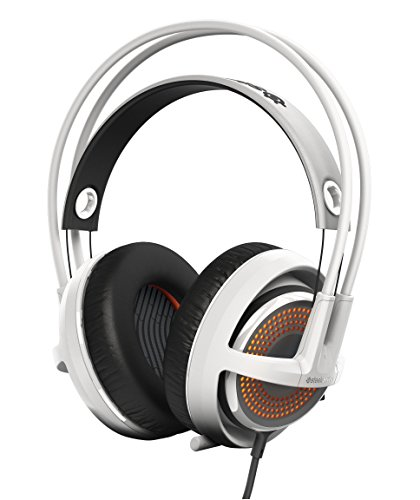 SteelSeries Siberia 350 Gaming Headset - White (formerly Siberia v3 Prism)  available at amazon for Rs.10450