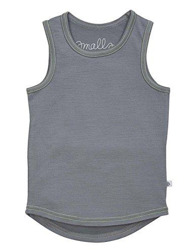 smalls-merino-ultimate-weste-in-grau-mit-fluoro-gelb-stitch-gr-9-10-jahre-london-fog-grey-fluoro-yel