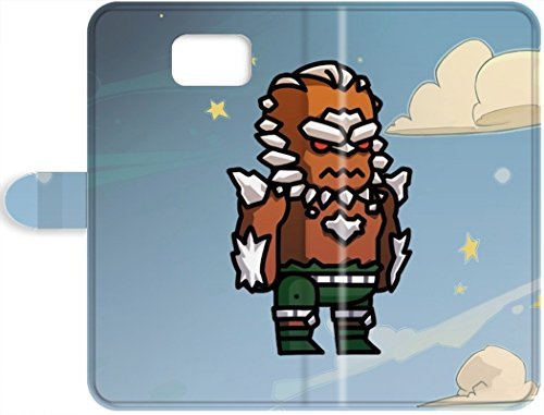 Discount Scribblenauts Unmasked Doomsday Scratch-free Phone Leather Case For Samsung Galaxy S7- Retail Packaging (Scribblenauts Unmasked Free compare prices)