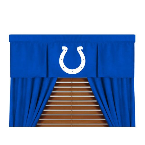 "Indianapolis Colts NFL ""MVP"" Collection Valance (50""x15"") at Amazon.com"