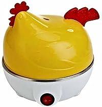 Han Shape Egg Cooker Egg Steam Boiler(Yellow)