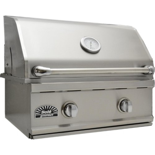 Sole Luxury Tr 26-inch Built-in Propane Gas Grill