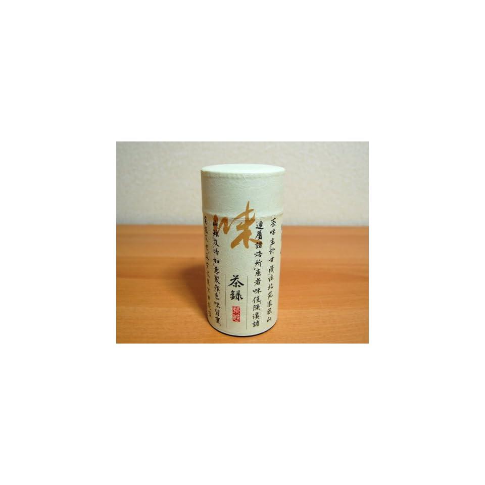 Roncha Aji Japanese Green Tea Tin [ Brown ]