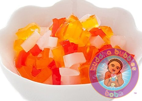 Jelly Topping Composite for Bubble / Boba Tea and Frozen Yogurt By Sunwave (Rainbow Jelly compare prices)