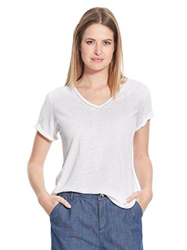 Balsamik - Maglietta maniche corte, statura - di 1,60 m - donna - Size : 54/56 - Colour : Bianco