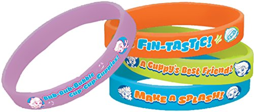 Bubble Guppies Rubber Bracelets (4ct) - 1