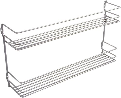 Metaltex Pepito / 364632039 Étagère à épices 2 étages 36 x 8 x 19 cm Revêtement Polytherm