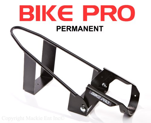 BIKE PRO Motorcycle Wheel Chocks - Black Permanent Chock