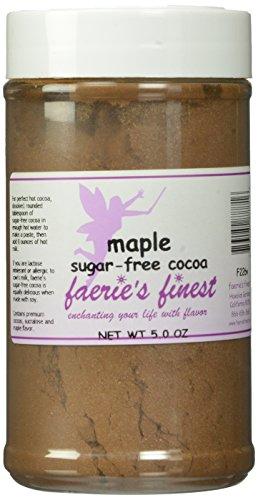 Faeries Finest Sugar-Free Cocoa, Maple, 5 Ounce