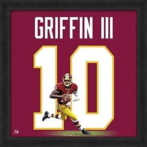 Robert Griffin III Washington Redskins 20x20 Wood Framed Uniframe Jersey Photo by NFL