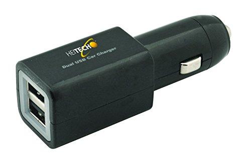 Heitech 05001629 KfzLadeadapter (2fach, USB) Picture