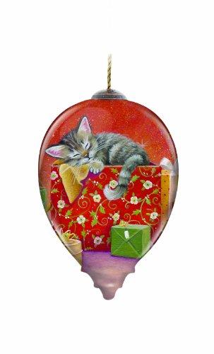 Ne'Qwa Kitten for Christmas Ornament