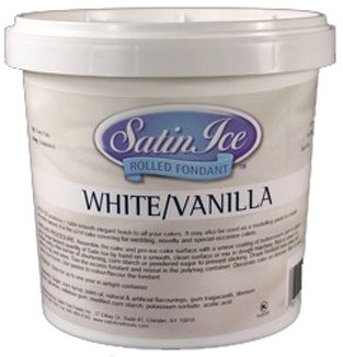 Satin Ice Fondant - White (5 lb) at Amazon.com