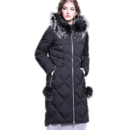 zyqyjgf-down-jacket-womens-thickened-solid-color-puffer-coats-fur-hooded-full-zip-warm-long-sleeve-l