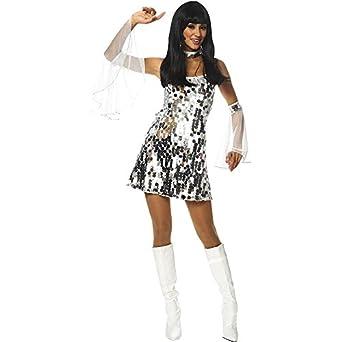 60s Dazzle Adult Halloween Costume Size 12-14 Large