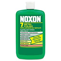 REC00117 - Noxon 7 Metal Polish, Liquid, 12 Oz. Bottle