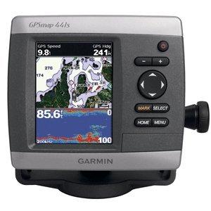 GARMIN GPSMAP 441S GPS CHART FISHFINDER COMBO W/ TM